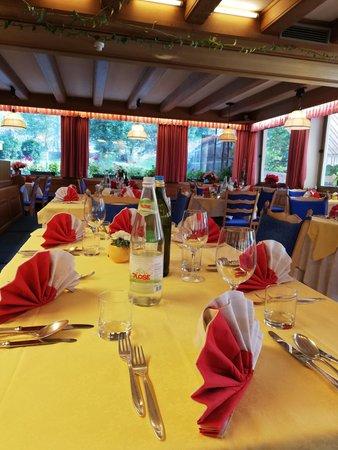 Il ristorante Ortisei Rodes