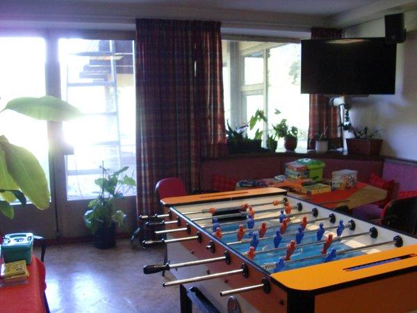 La sala giochi Hotel Rodes