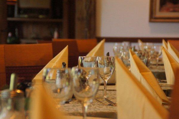 Il ristorante Ortisei Villa Emilia
