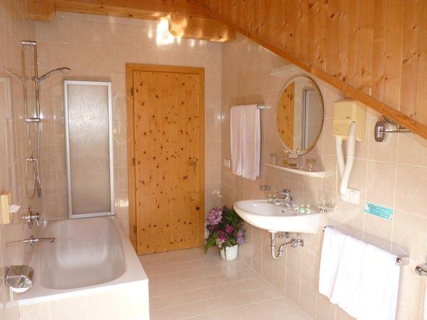 Foto del bagno Garni-Hotel Fortuna