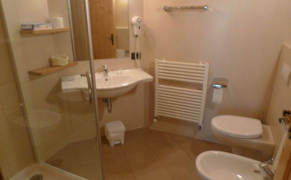 Foto del bagno Hotel Villa Brunello