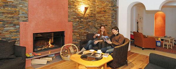Le parti comuni Hotel Villa Brunello
