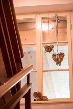 Foto di alcuni dettagli Villa Alba