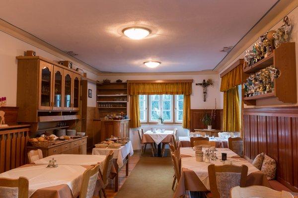 Il ristorante La Villa Villa Alba