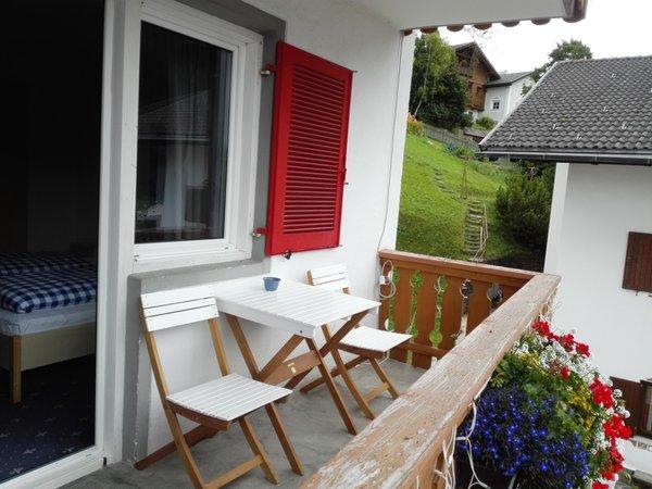 Foto del balcone Hotel-Pension Sonnalp