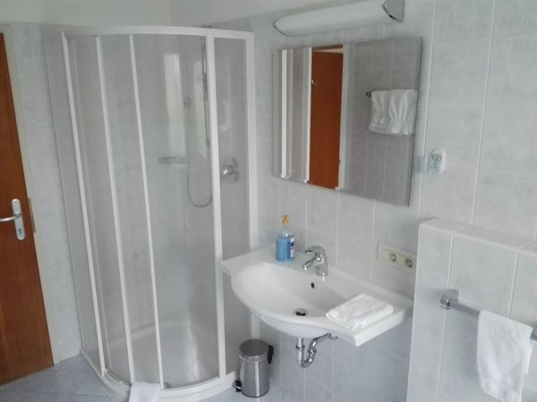 Foto del bagno Hotel-Pension Sonnalp