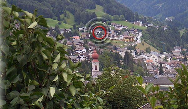 La posizione Hotel-Pension Sonnalp Ortisei