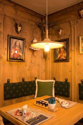 Il ristorante Ortisei Snaltnerhof