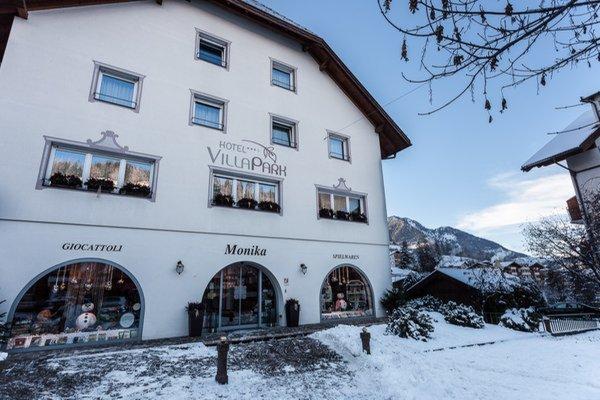 Foto invernale di presentazione Garni-Hotel + Residence Villa Park