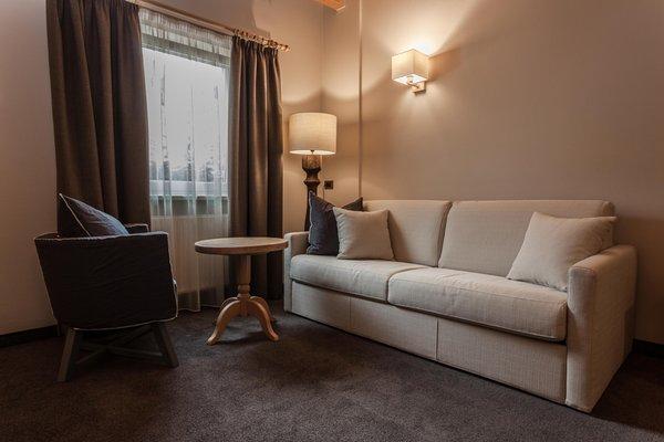 La zona giorno Garni-Hotel + Residence Villa Park