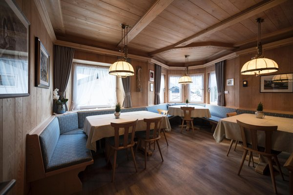 Il ristorante Ortisei Apartments Villa Aurelia