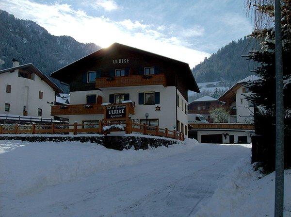 Foto invernale di presentazione B&B + Appartamenti Ulrike