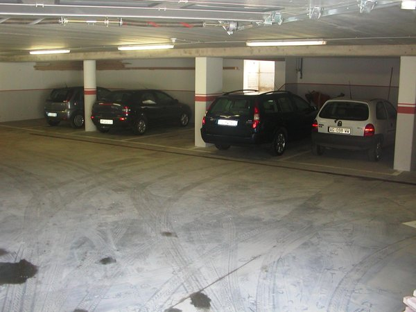 The car park Residence Palmai