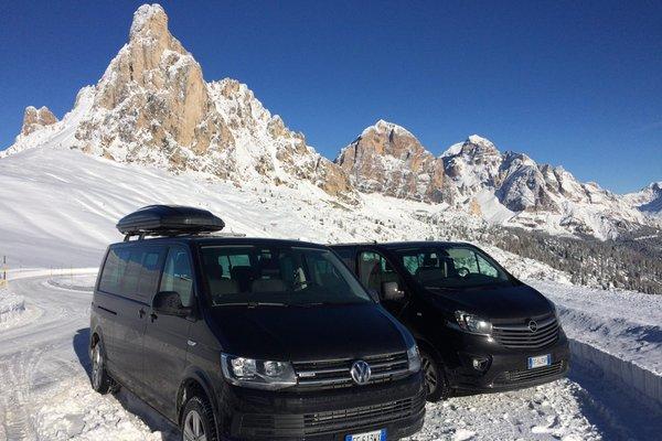 Winter presentation photo Cortina Taxi.net