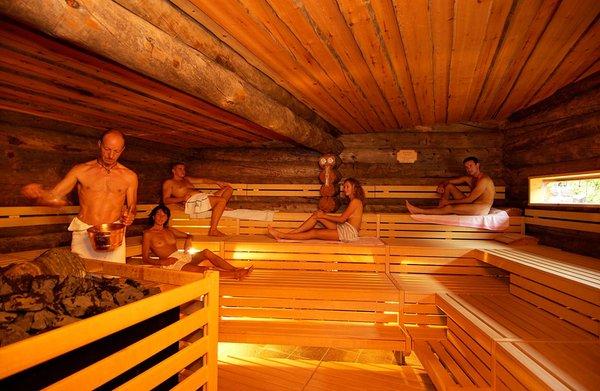 Foto della sauna Ortisei