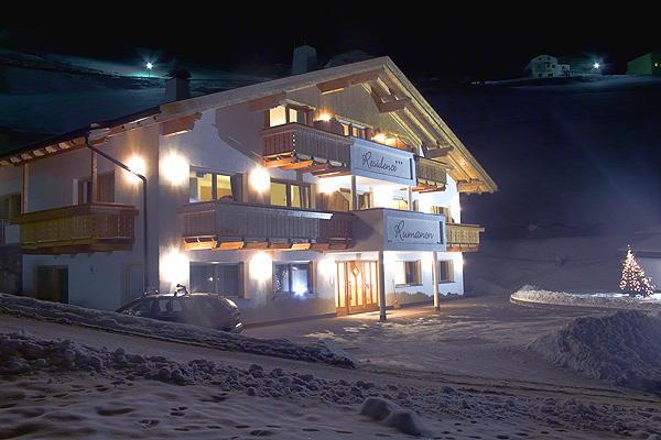 Photo exteriors in winter Rumanon