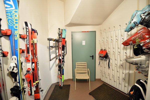 Der Skiraum Residence Castel