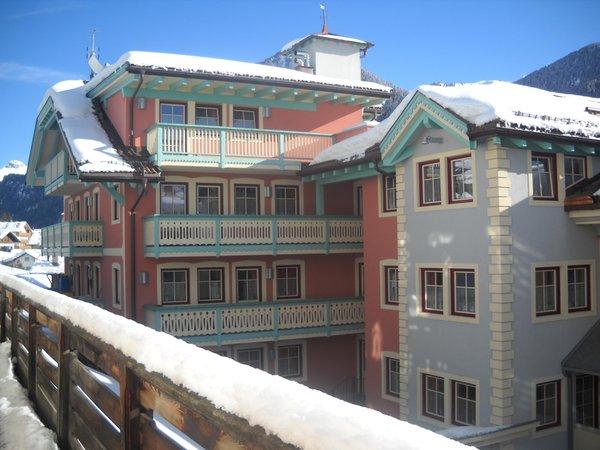 Foto invernale di presentazione La Meisules - Appartamenti