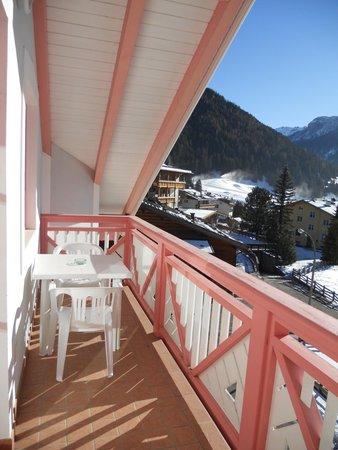 Foto del balcone Villetta Giumella