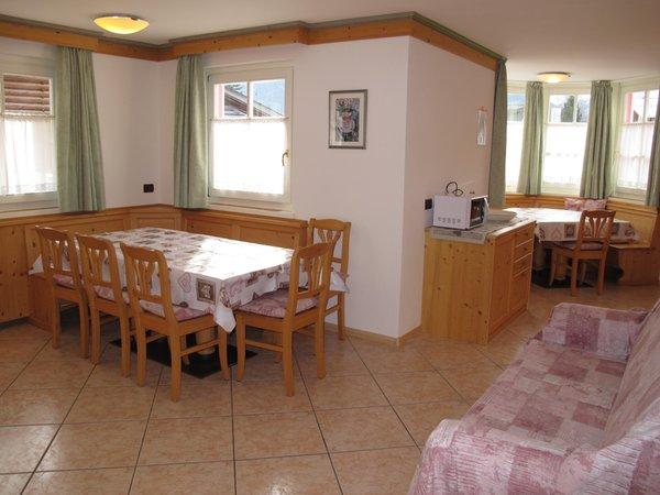La zona giorno Appartamenti Villetta Giumella