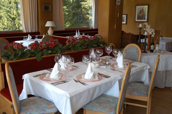 Il ristorante Corvara Planac - Golf & Ski
