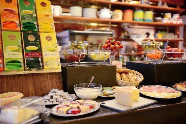La colazione Fever - Garni-Hotel + Residence 3 stelle