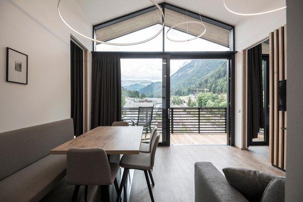 La zona giorno Fever - Garni-Hotel + Residence 3 stelle
