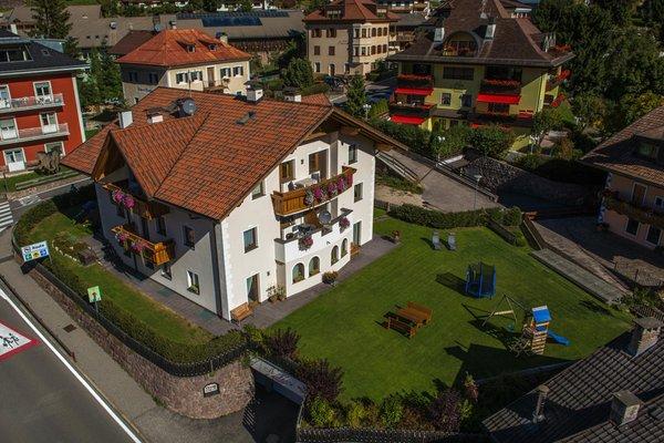 La posizione Appartamenti Ansciuda Ortisei