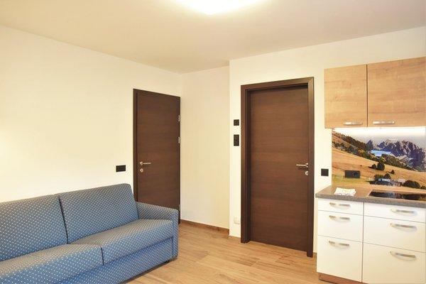 La zona giorno Appartamenti Cesa Ploner