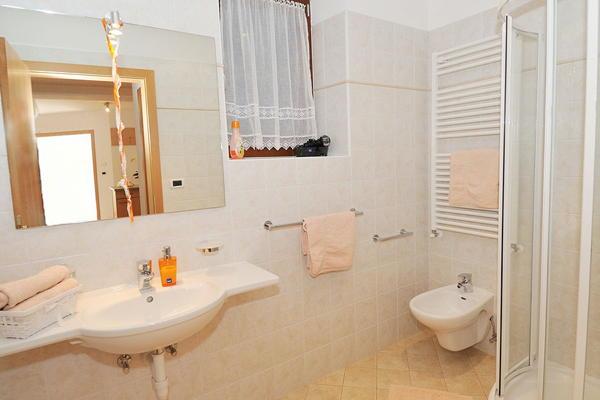 Foto del bagno Appartamenti Christa