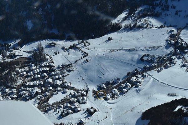 La posizione Hotel Sport Colfosco