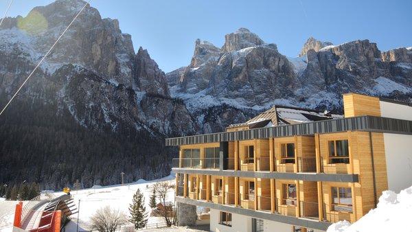 Foto invernale di presentazione Hotel Sport