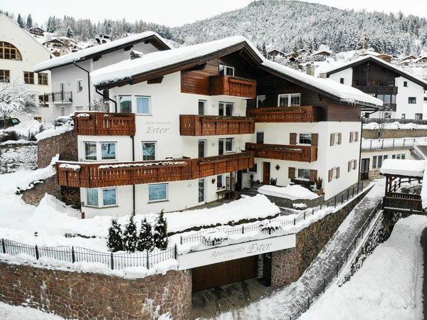 Photo exteriors in winter Ester