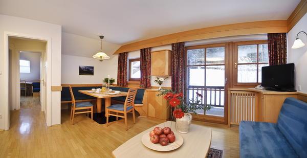 La zona giorno Appartamenti Palmerhof