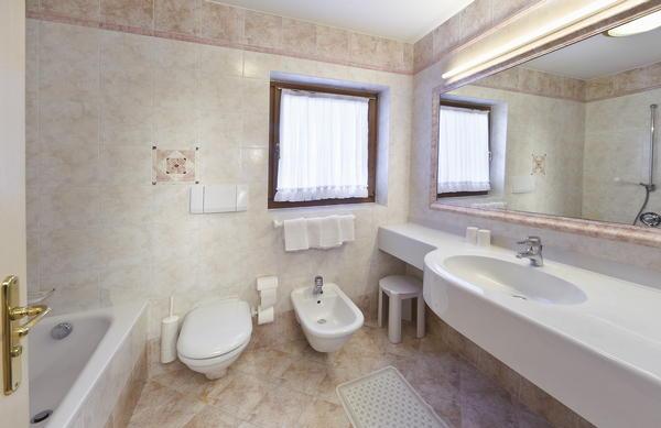 Foto del bagno Appartamenti Palmerhof