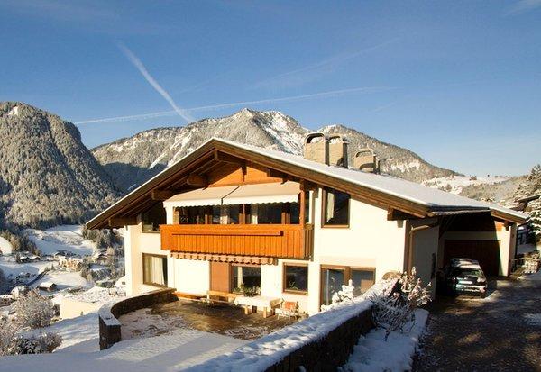 Foto invernale di presentazione Appartamenti Pitscheider Schmalzl Herta