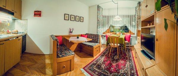 La zona giorno Tlusel - Appartamenti 3 soli