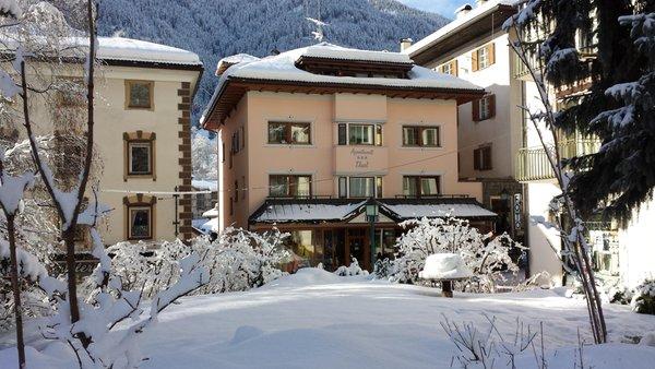 Foto invernale di presentazione Tlusel - Appartamenti 3 soli