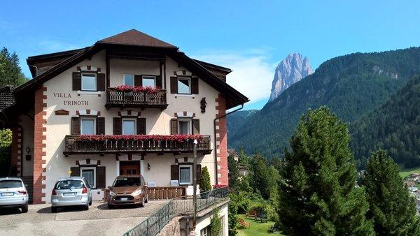 Foto estiva di presentazione Appartamenti Villa Prinoth