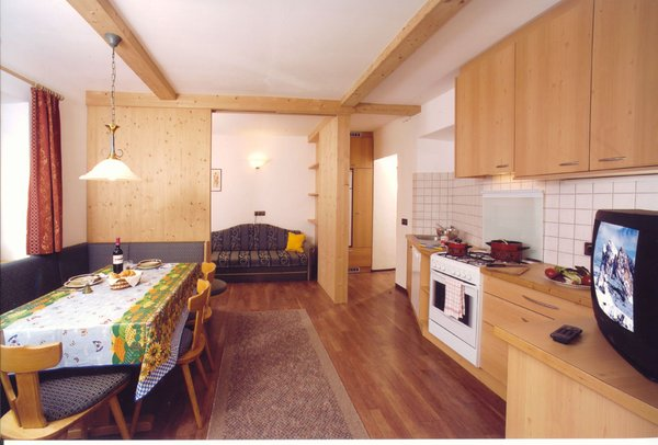 Foto della cucina Villa Prinoth