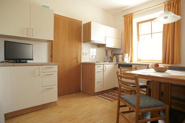 La zona giorno Appartamenti Waldheim