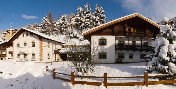 Foto invernale di presentazione Appartamenti Pitla Sotria