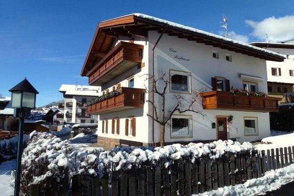 Foto invernale di presentazione Appartamenti Cesa Rabanser