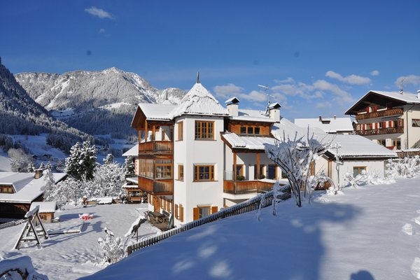 Foto invernale di presentazione Apartments Agnes