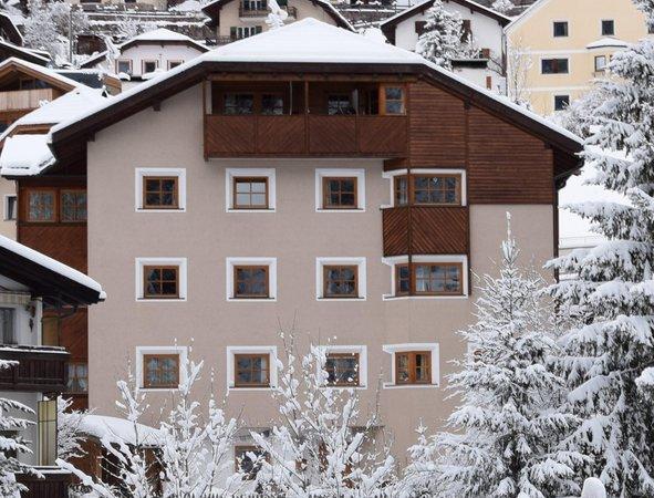 Foto invernale di presentazione Appartamento Furmescer