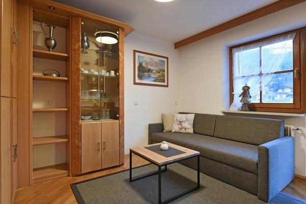 La zona giorno Appartamento Miraval