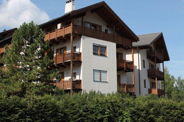 Foto estiva di presentazione Appartamento Miraval