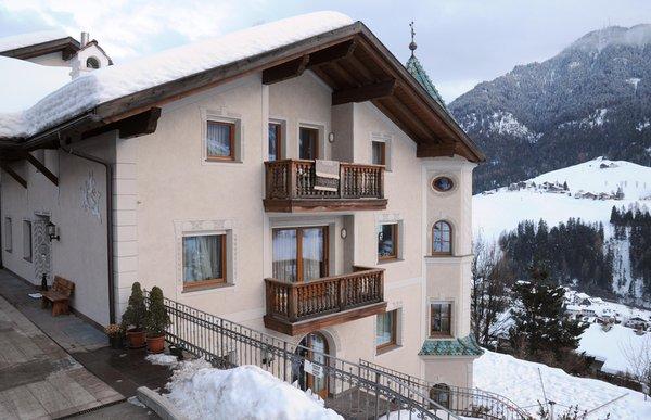 Foto invernale di presentazione Appartamenti Walter Senoner