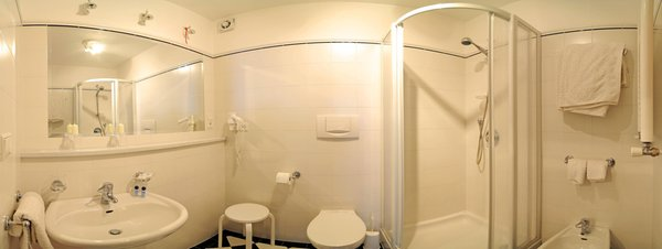 Foto del bagno Appartamenti Walter Senoner