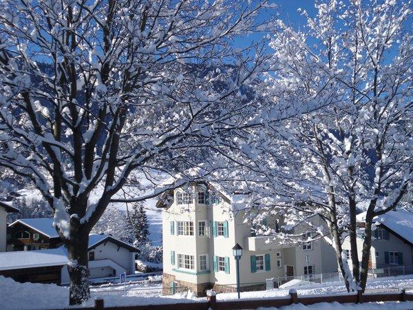 Foto esterno in inverno Villa Anderlan